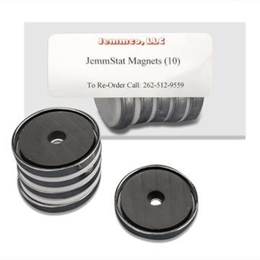 Picture of JemmStat™ Anti-Static Cord Mounting Magnets (magnets only)